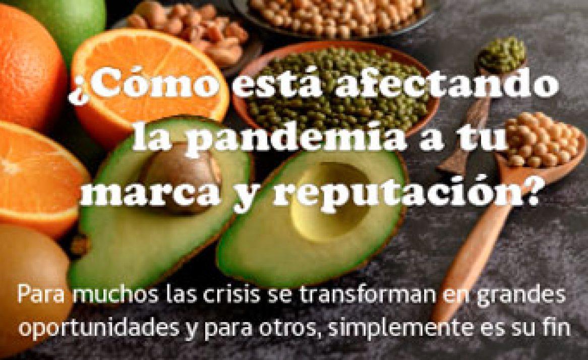 Sector alimentos: ¿Cómo está afectando la pandemia a tu marca?