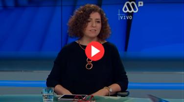 Jennyfer Salvo, panelista del Programa Provocadores en MegaNoticias Plus Prime