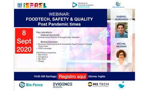 Webinar: Foodtech, safety & quality post pandemic times
